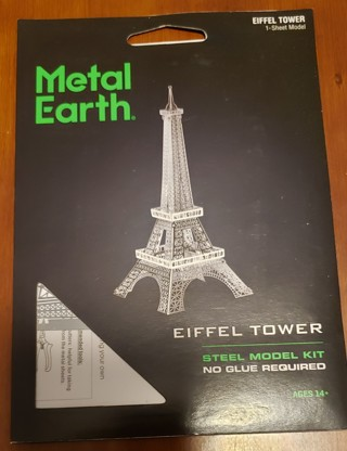 NEW - Metal Earth - Eiffel Tower - Steel Model Kit