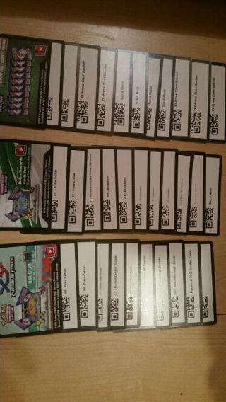 Pokemon TCGO random booster pack code