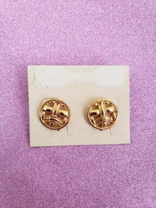 Preowned Goldtone Earrings