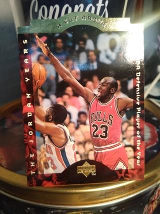 Lot 7 Michael Jordan Die Cut, Greenwood, Theismann, Griffin, Jones NBA NFL