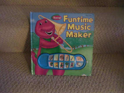 Free Barney Funtime Music Maker Play A Song Children S Books Listia Com Auctions For Free Stuff