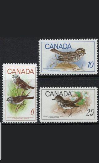 Canada 1969 Sc# 496-498 MNH Birds