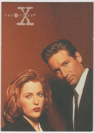 The X-Files Season Three (1996) ~ Rare Promo Card #d P1