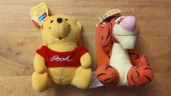 New Tigger & Winnie The Pooh Stuffed Animal Books ʕ•́ᴥ•̀ʔ