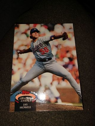 Baseball Card - Jay Howell 1992