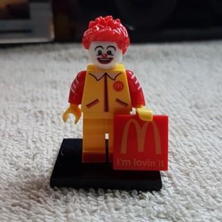 New Ronald McDonald Super Heroes Minifigure Building Toys Custom Lego