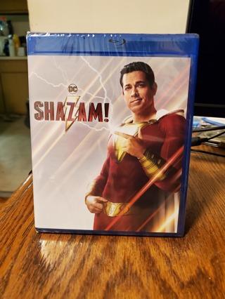 Shazam! Blu-Ray Brand New Factory Sealed