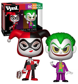 NEW Funko Vynl DC Comics Harley and Joker Collectible Figures FREE SHIPPING