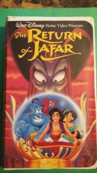 vhs the return of jafar free shipping
