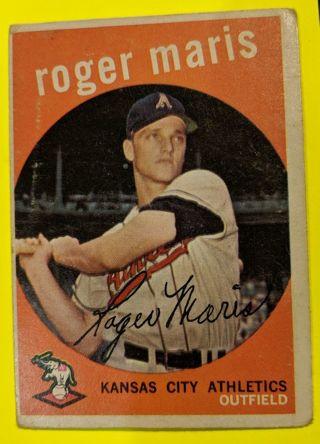1959 ROGER MARIS (2ND YEAR CARD)