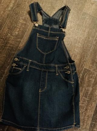 Jordache overall skirt