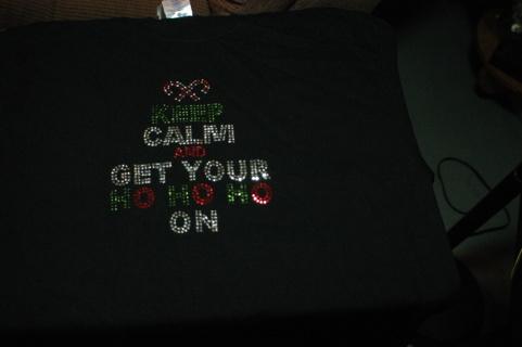 Shirt. Keep Calm and Get Your Ho Ho Ho On