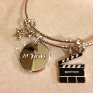 Brand new Mary Kay Designer Charm Bracelet By RJ Grazinao.