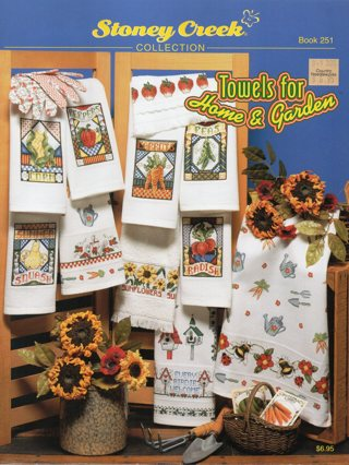 Cross Stitch Book: Towels for Home & Garden
