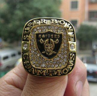 Oakland Raiders Super Bowl XVIII Championship Ring solid souvenir Sport men fan gift