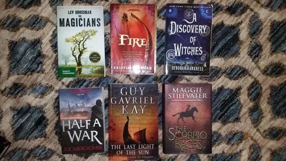 Winner Pick One (1) - Fantasy Genre Book Auction