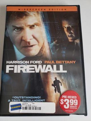 Dvd .. Firewall. Harrison Ford