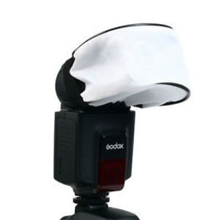 Cobra Type Camera Flash Lamp Soft Box Universal Cloth Cover Bounce Diffuser