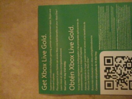 Free: Xbox live gold 14 day free trial code - Video Game