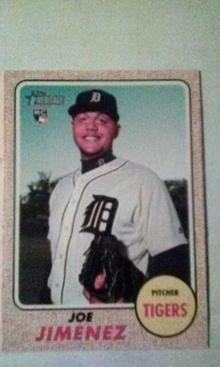 2010's Detroit Tigers Mystery Card