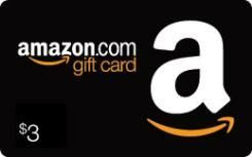 $3 Amazon Gift Card!!! Reasonable GIN!!!