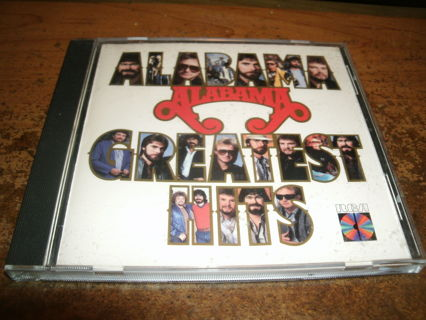 cd-alabama-greatest hits-country-randy owen-used