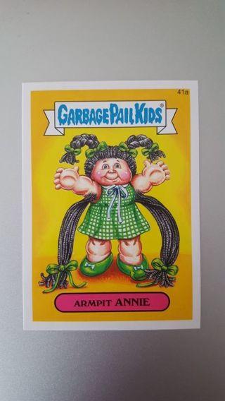 2015 Garbage Pail Kids Card #41a • ARMPIT ANNIE • See Photos