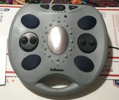 Pollenex PFM200G GEL Touch Percussion Vibrating Foot Massager W/ Heat