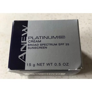 Avon Anew Platinum Cream Broad Spectrum SPF 25 Sunscreen