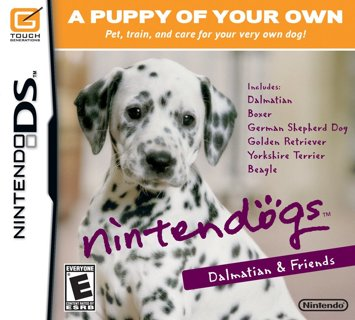 Nintendogs DS Game