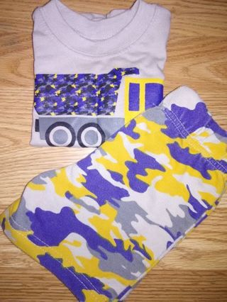 NWOT Baby Boys 2pc Short Outfit