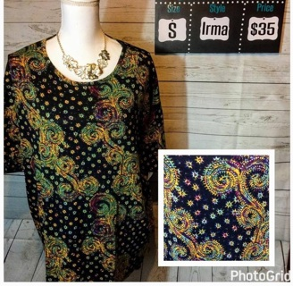 LulaRoe Irma Size S and Free shipping!