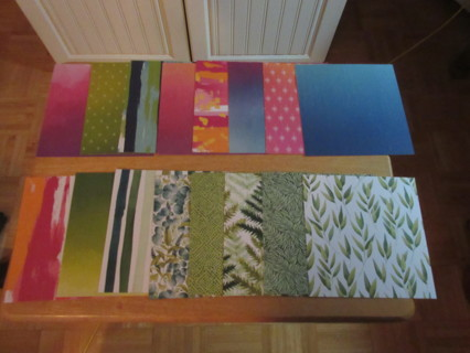500 pieces of Stampin'Up! Designer Series Paper