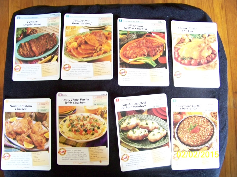 Free Easy Everyday Cooking Recipe Cards 11