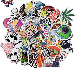 (10) NEW MYSTERY RANDOM Pack Stickers *Luck of The Draw* Random Pop Culture Art Music Movie Anime