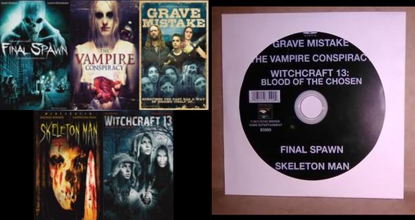 10 Horror Movies - DVD Movies
