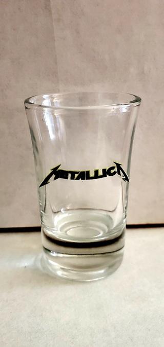 Metallica Shot Glass