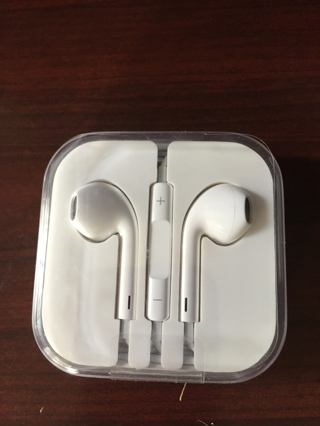 Iphone earbuds, new in case