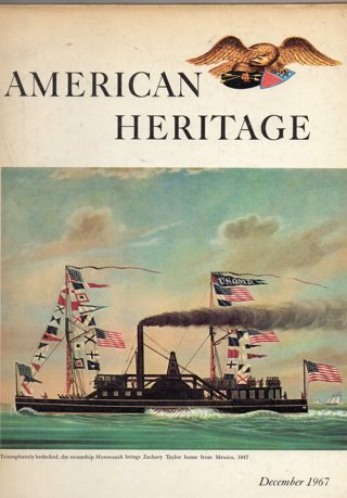 Vintage American Heritage Hard Covered Book: December 1967
