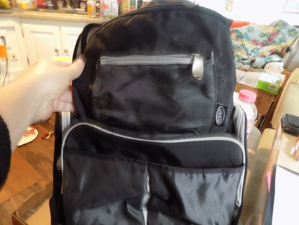 Graco large backpack/diaper bag 17 x 14 x 5