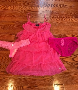 NWT and NWOT VS PINK NITIE, PANTY, & THONG