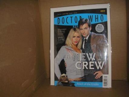 Dr Who Magazine 366 Maureen O'Brien Mark Gatiss march
