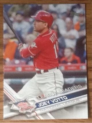 Joey Votto baseball card