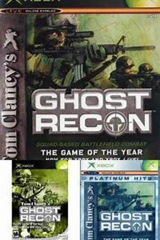 XBOX,TOM CLANCY's GHOST RECON,,good shape