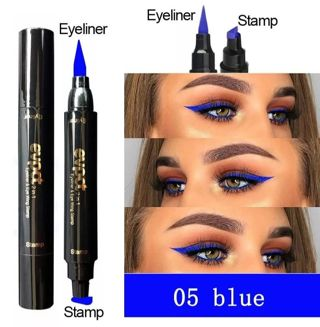 1pc. Double Ended 2 in 1 Liquid Eyeliner