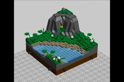 Free Lego Nature Moc Instructions Custom Model Building Toys