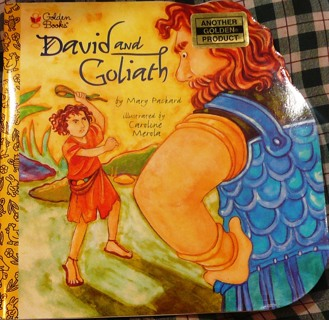 Little Golden Book...David and Goliath...