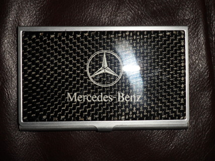 Free mercedes benz business card holder other car items for Mercedes benz business card