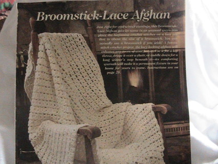 Free Broomstick Lace Afghan Pattern Crochet Listia Auctions