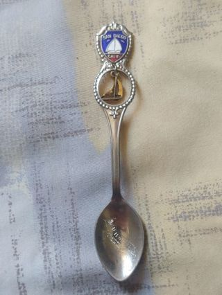 San Diego California Collectors Spoon